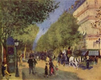 Pierre-Auguste Renoir: Les grands boulevards