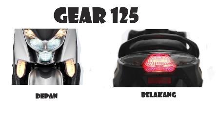Spesifikasi Lengkap Yamaha Gear 125 2020