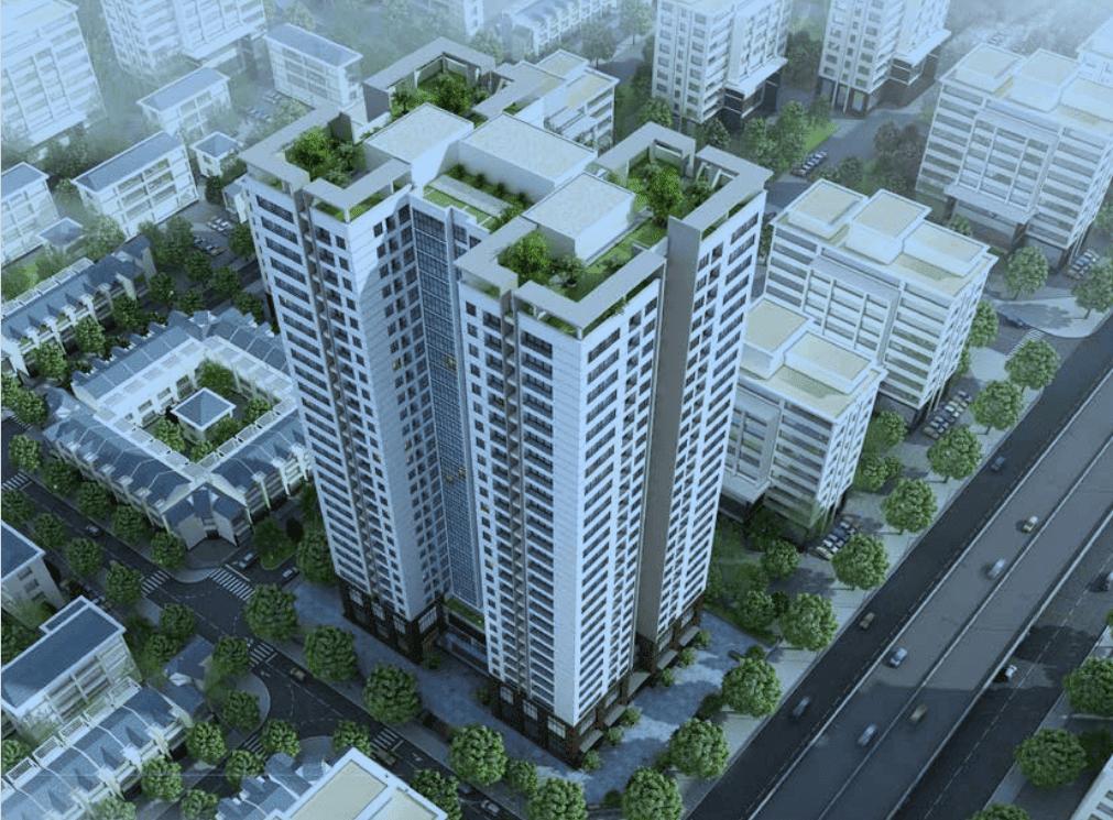Phối cảnh dự án chung cư Housico Grand Tower Nguyễn Xiển