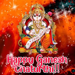 happy ganesh chaturthi images png