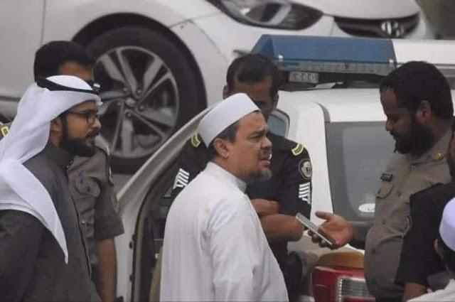 Diduga Pasang Bendera ISIS, Habib Rizieq Diperiksa Aparat Arab Saudi