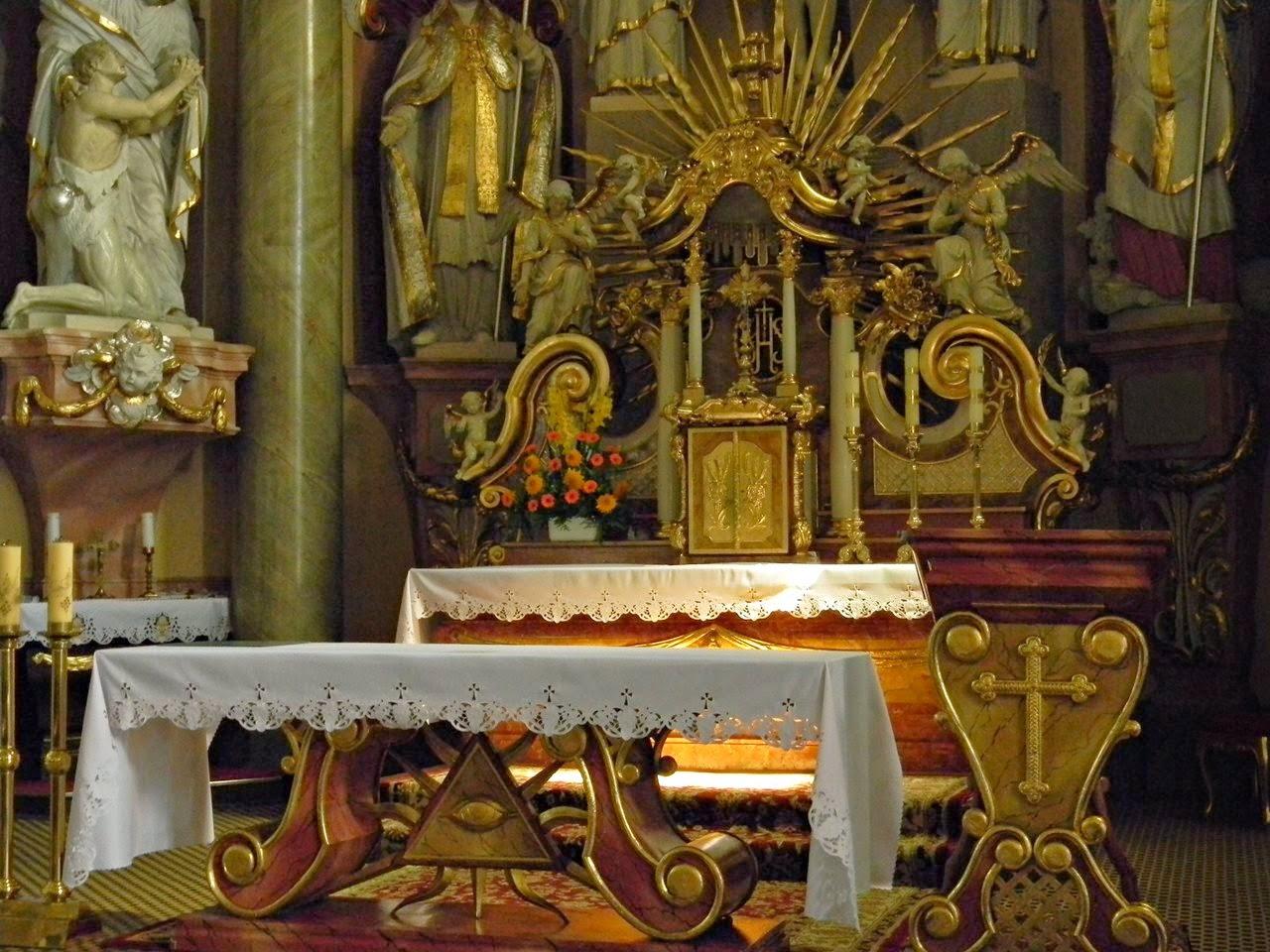 kościół, Korfantów, złocenia, święci