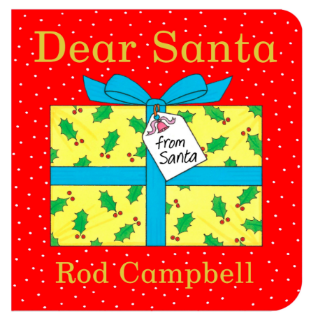 Christmas Eve Box Ideas for a One Year Old  - Dear Santa Board Book