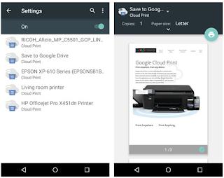 Cara Print File Dari Android Dengan Aplikasi Cloud Print