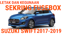 fusebox suzuki swift 2017-2019