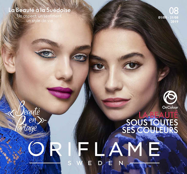 catalogue oriflame maroc aout 2019