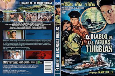 Carátula dvd: El diablo de las aguas turbias