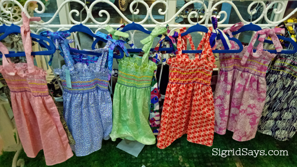 Smocking dresses for kids at Perfect Match Boutique Bacolod