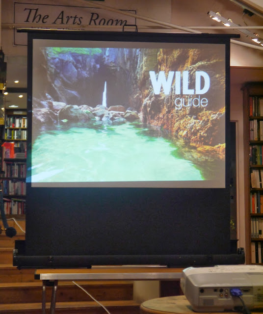 Wild Guide Talk at Topping Bookshop, Bath