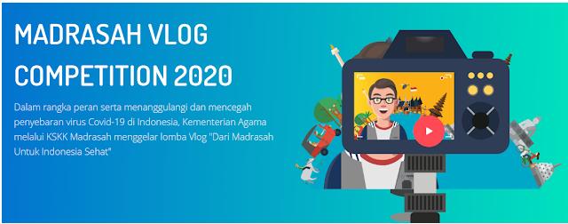 Lomba Vlogger Madrasah Simak Persyaratan dan Hadiahnya (Madrasah Vlog Competiton 2020)