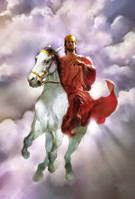 7 columbia youth with jesus in a white horse