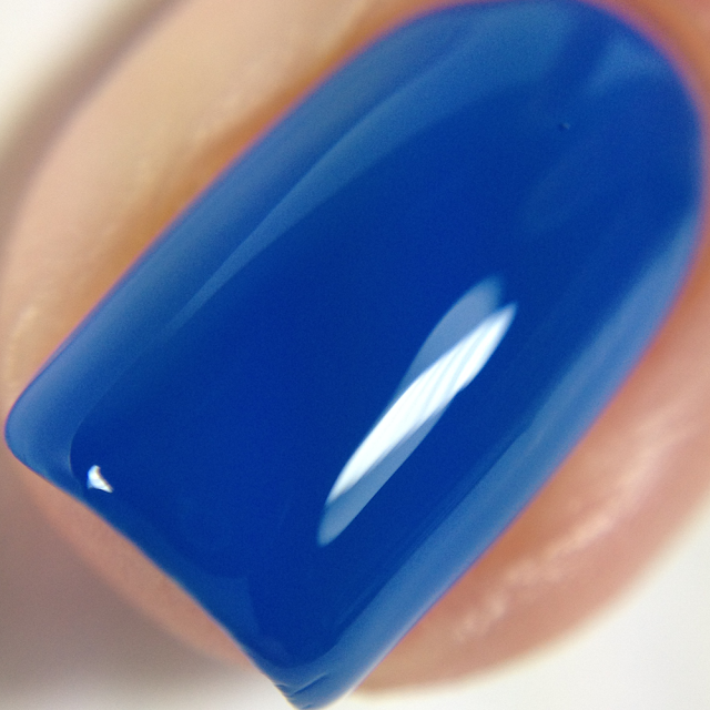 Night Owl Lacquer-Feeling Blue Without You