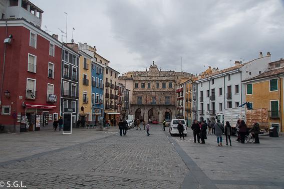 Plaza mayor de Cuenca. 10 lugares para visitar en Cuenca