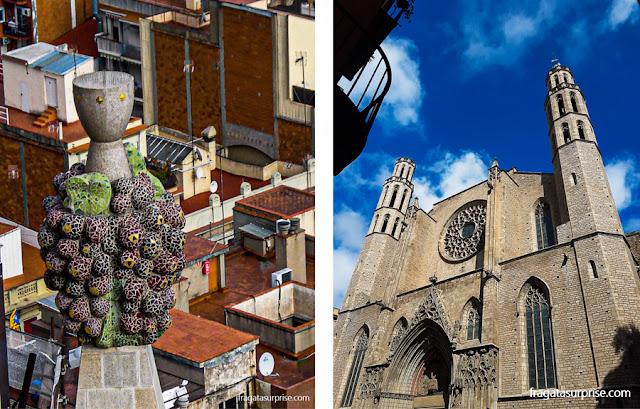 Atrações de Barcelona: Sagrada Família e Igreja de Santa Maria del Mar