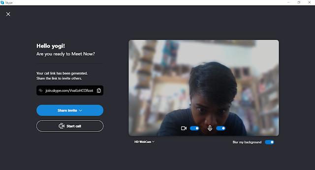 Langkah-langkah teleconference menggunakan skype di Laptop