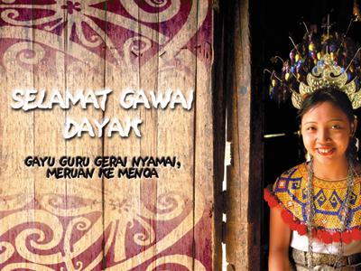 Sk St Patrick Krokong Bau Kuching Selamat Hari Gawai 2013 To All