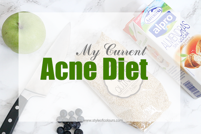 Acne diet to reduce cystic acne: No diary, low GI foods