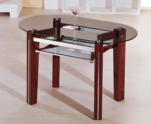 Стол со стеклянной столешницей фото