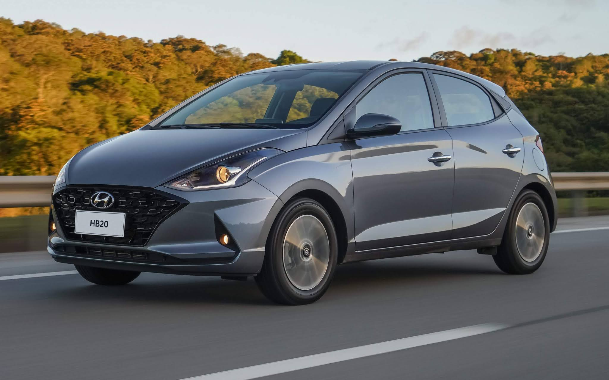 Hyundai HB20 - carro mais vendido do Brasil em junho de 2021