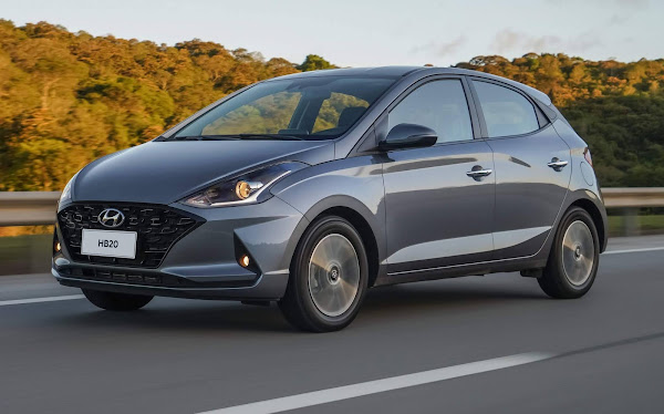 Carros e marcas mais vendidos em abril de 2021 - 2º decêndio
