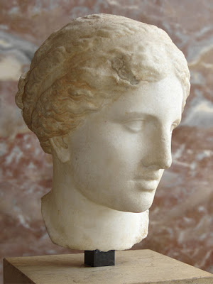 Aphrodite, a personification of planet Venus