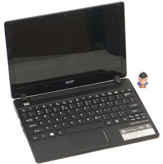 Laptop Acer Aspire 725 LED 11.6 Inchi Bekas