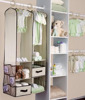 baby closet storage organizer
