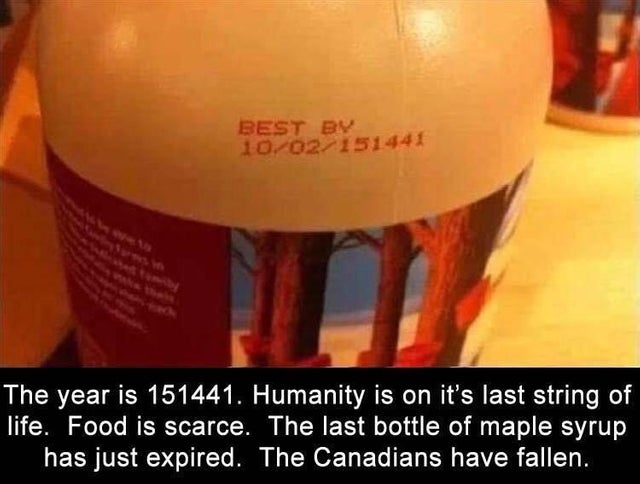 The last maple syrup on Earth