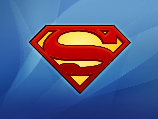 Dessin superman logo - Fonds d'écran HD