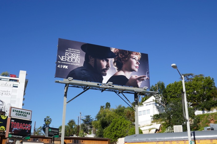 Fosse Verdon TV series billboard