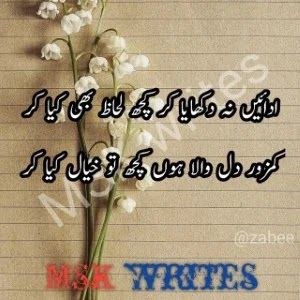 Poetry In Urdu Love