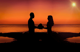 puisi singkat senja romantis