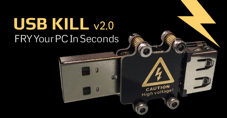 Oh, It's On Sale! USB Kill to Destroy any Computer within Seconds