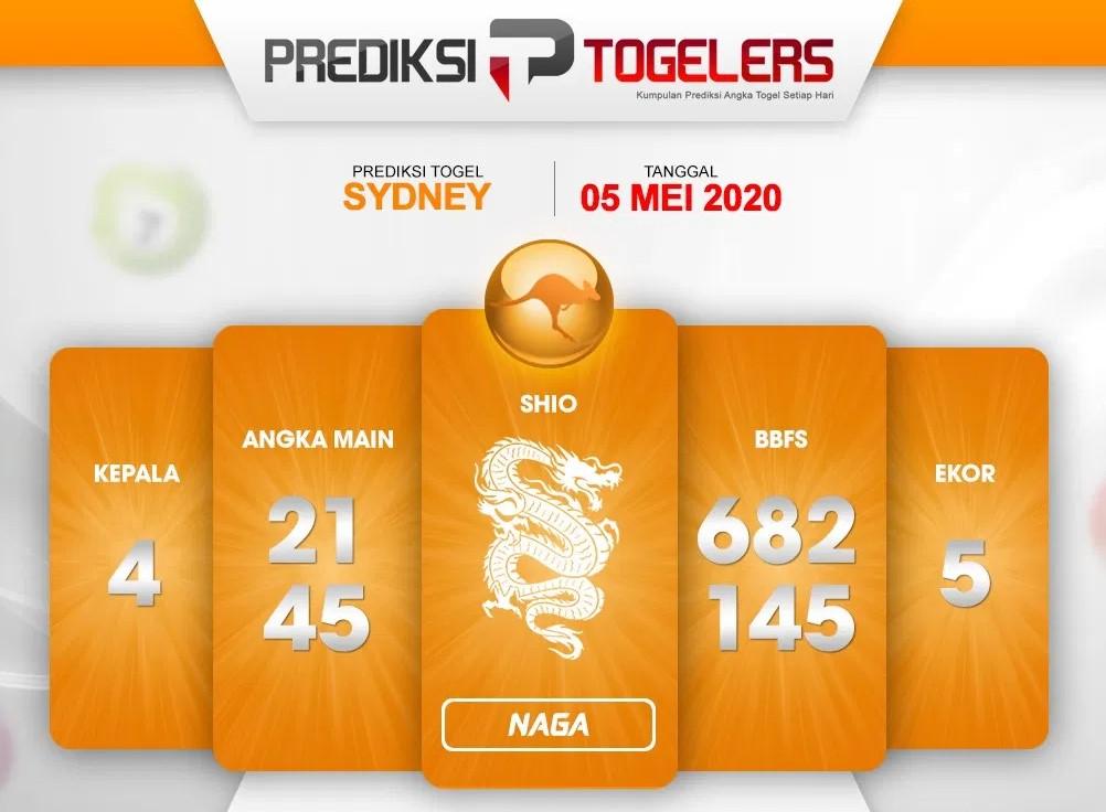 Prediksi Togel Sydney 05 Mei 2020 - Prediksi Togelers
