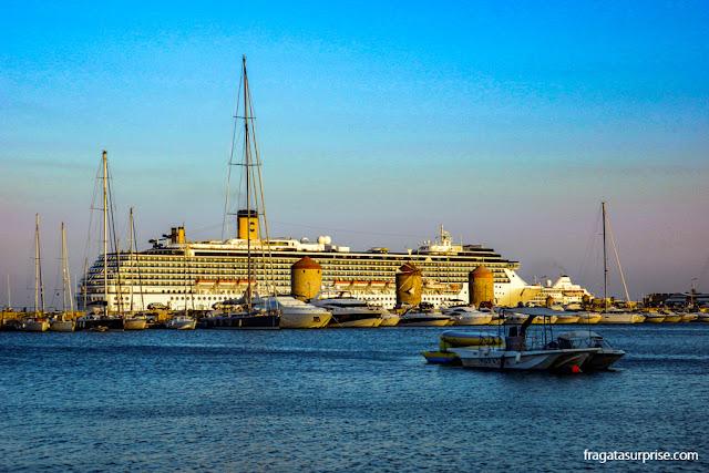 Porto de Mandráki - Ilha de Rodes - Grécia