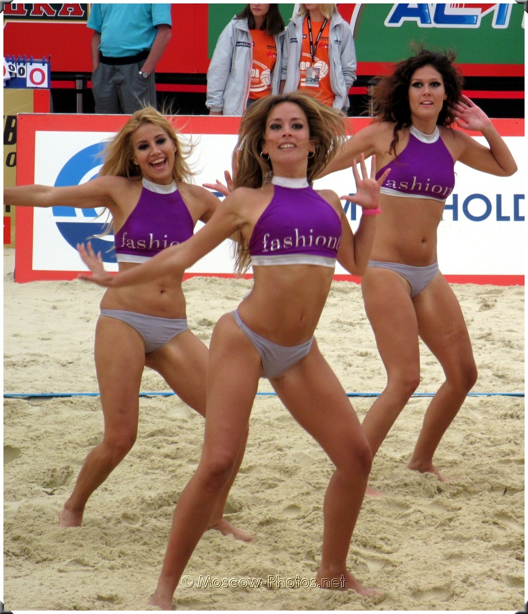 Beach Volleyball Dancing Fashion TV Girls