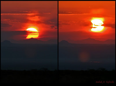 temsili güneşin batıdan doguşu