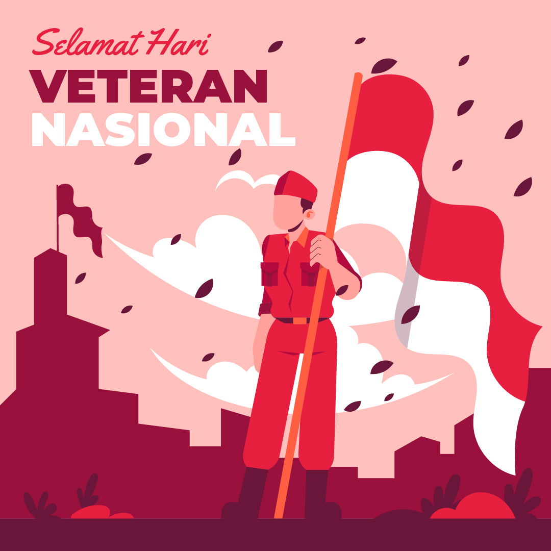 Gambar Ucapan Selamat Hari Veteran Nasional - 10 Agustus 2021