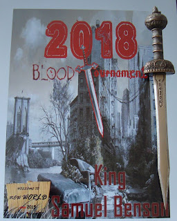 Portada del libro Blood Tournament, de King Samuel Benson