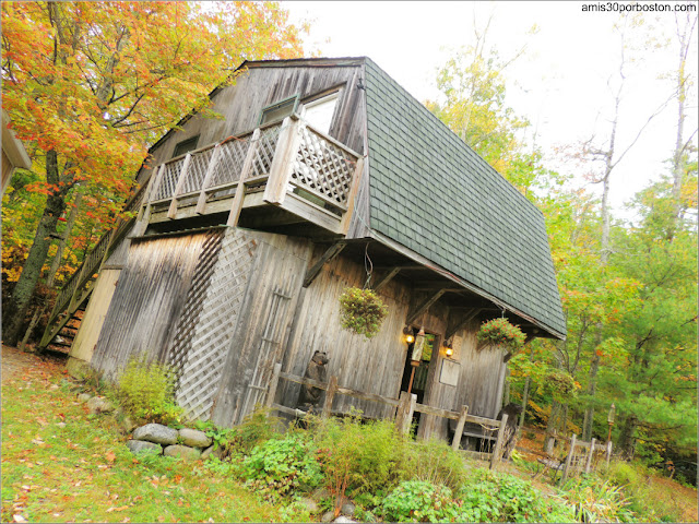 Cabaña Común en Lakeside Cedar Cabins en Maine