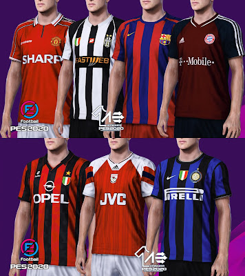 PES 2020 Classic Kitpack by AerialEdson