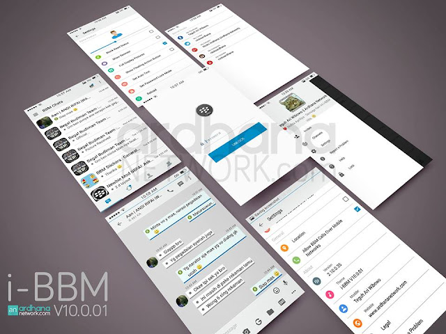 preview i-BBM V10.0.01 - BBM Android V2.10.0.35