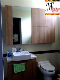 workshop custom setting interior furniture - Kamar Mandi Bath Room - Maharumi Furniture