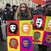 Communist supporters mark Bolshevik Revolution centennial