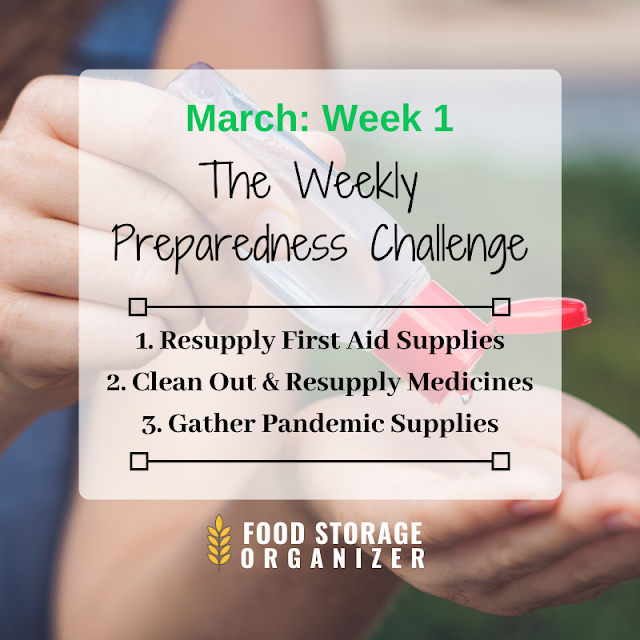 Preparedness Challenge: March Week 1