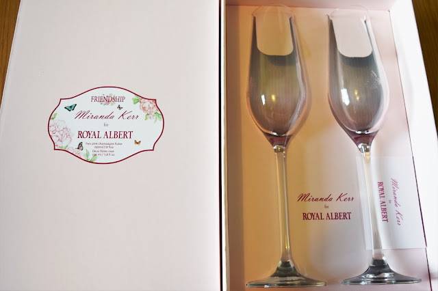 Royal Albert Miranda Kerr Champagne Flutes Set