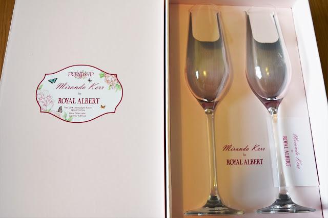 Royal Albert Miranda Kerr Champagne Flutes Set