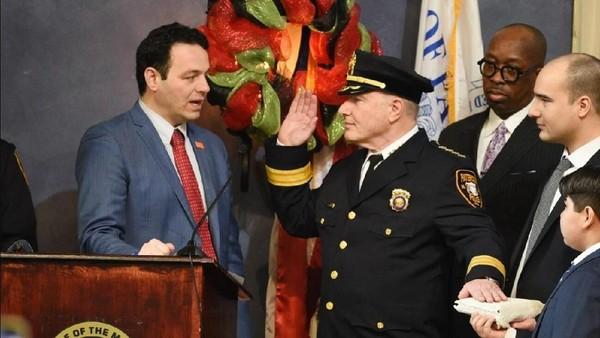Kepala Polisi Muslim Pertama Dilantik di Kota Amerika Serikat Ini
