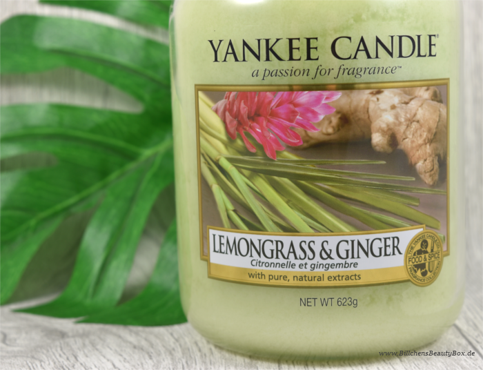 Yankee Candle Lemongrass Ginger