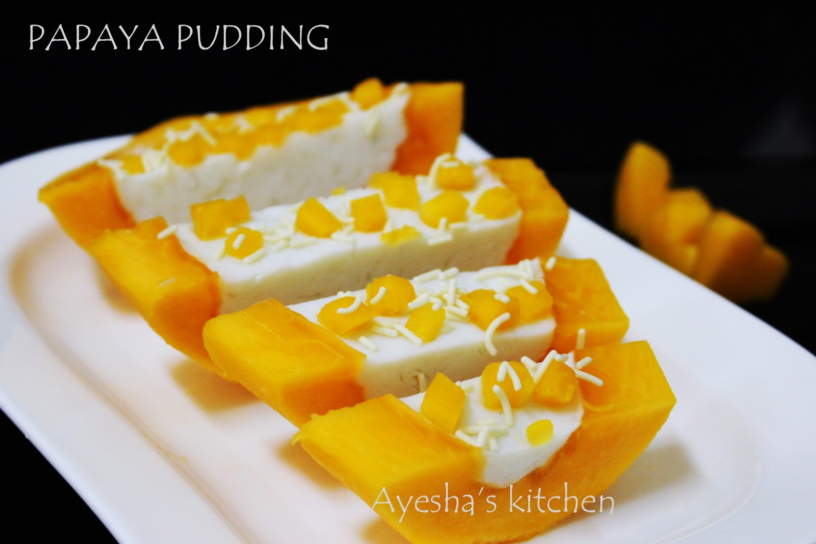 healthy fruit dessert recipes papaya fruit